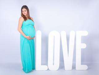Sesión de embarazo de Rita