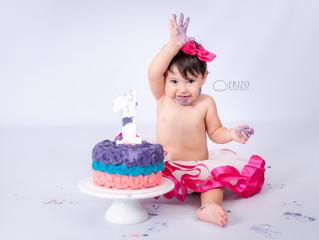 Cake Smash de Anahi