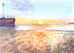 159. Sunrise in Swanage