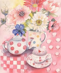 124. Pink Still Life