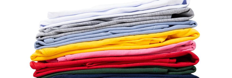 Kit Com 10 Camisetas Lote Atacado Pronta Entrega Algodão