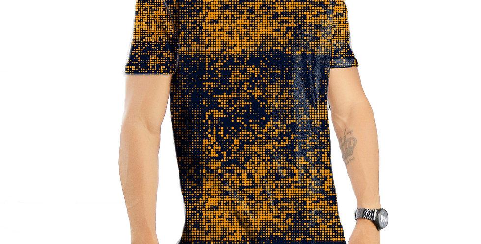 Camiseta Oversized Redonda Swag Estampa Total Colors 02