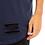 Thumbnail: Camiseta Longline Oversized Destroyed Rasgada Barra Redonda Azul Escuro
