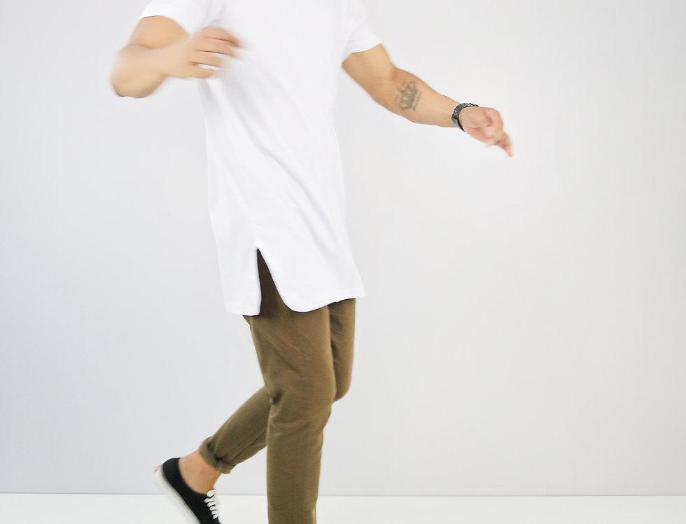 Camisa Extreme Oversized Branca Algodão