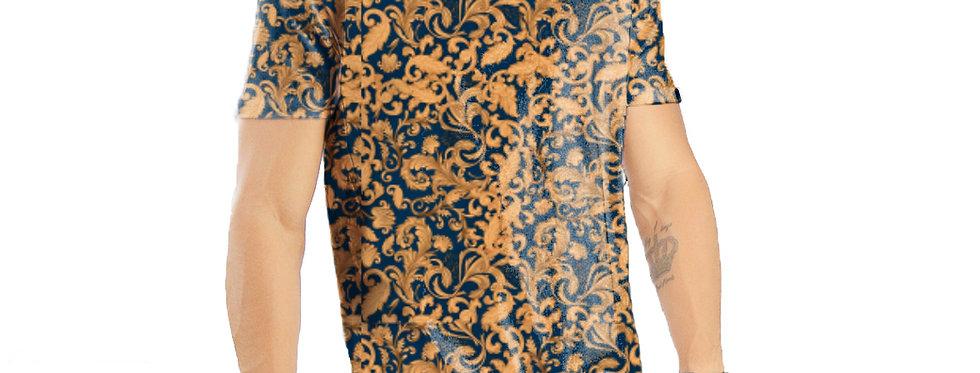 Camiseta Oversized Redonda Swag Estampa Total Colors 05
