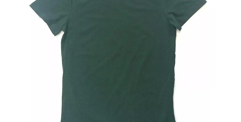 Camiseta Oversized Longline Redonda Infantil - 2 A 16 Anos Verde