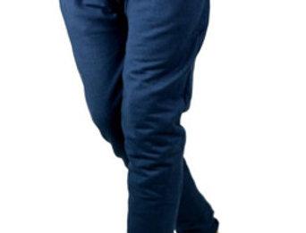 Calça Moletom Saruel Swag Jogger Masculina Top Básic Azul Marinho