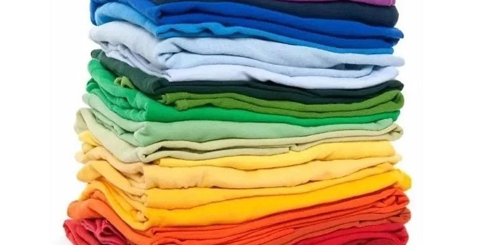 Kit Com 5 Camisetas Lote Atacado Pronta Entrega Algodão