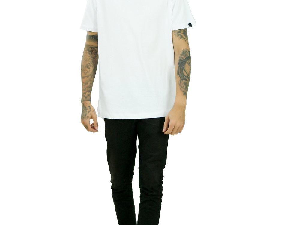 Camiseta Básica Branca Manga Curta