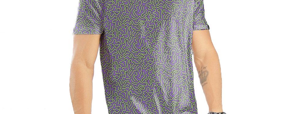 Camiseta Oversized Redonda Swag Estampa Total Étnica 02