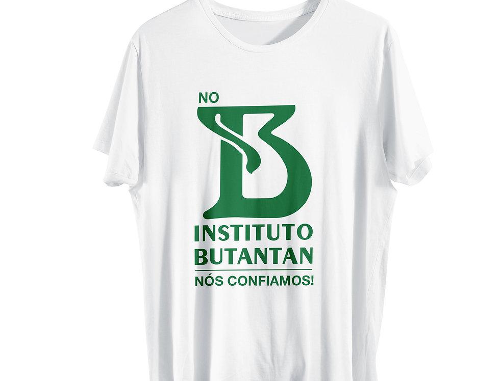 Camiseta 100% Algodão Butantan