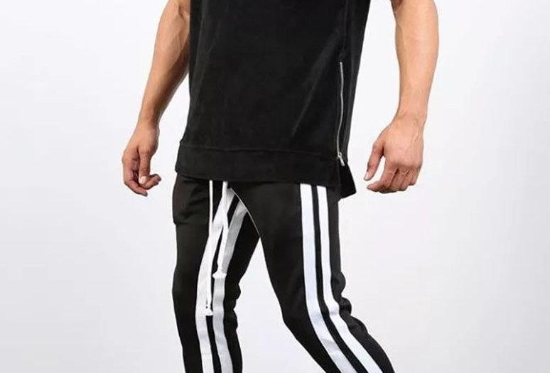 Calça Listrada Track Pants Double Versão 2 Lançamento