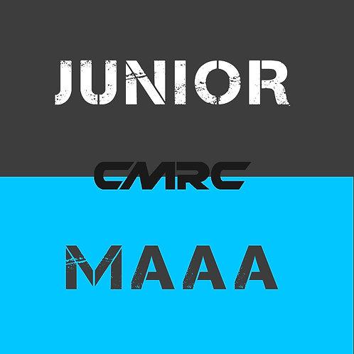 HALF Year JUNIOR (under 18) MAAA Included