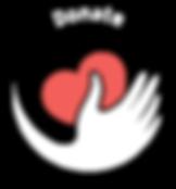 Donate icon graphic