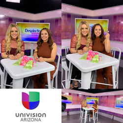 Lash Leaf on Univision