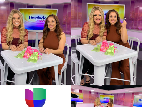 Lash Leaf Featured in Despierta Arizona on UNIVISION!