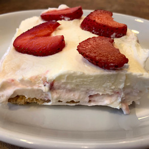 Strawberry Mascapone Cheesecake!