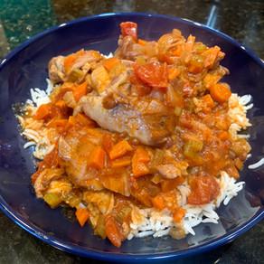 Chicken Cacciatore/ Pollo alla Cacciatora