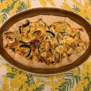 Zucchini Pie/Crostata di Zucchine