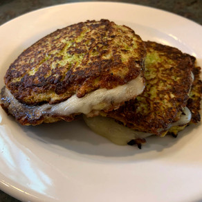 Cauliflower Grilled Cheese!