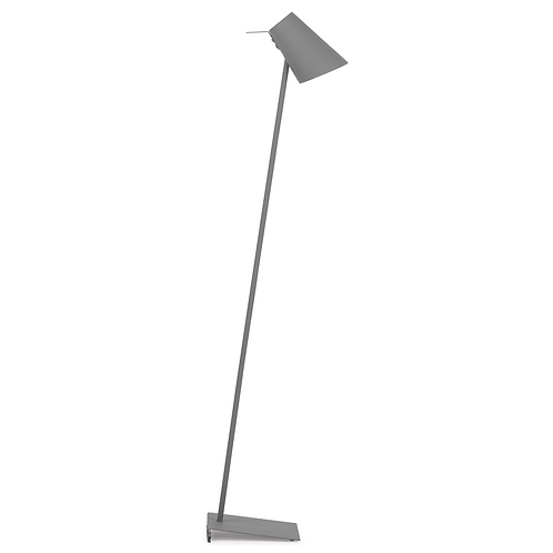 It's about RoMi floor lamp iron/ rubber Cardiff
