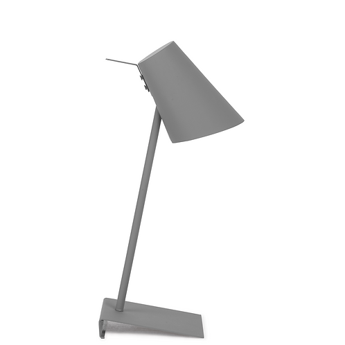 It's about RoMi table lamp iron/ rubber Cardiff