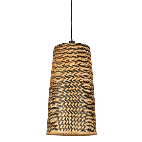 Good&Mojo hanging lamp Kalimantan bamboo/ tapered
