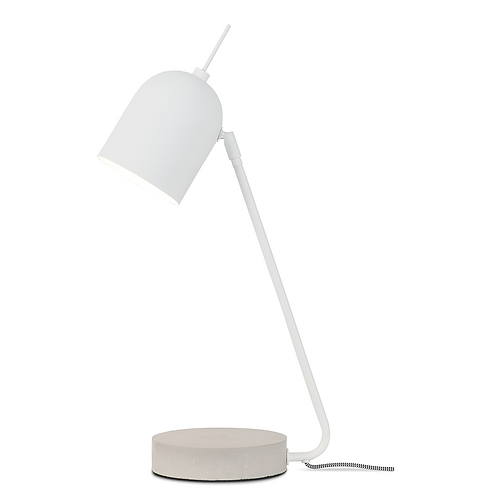 It's about RoMi table lamp iron/ concrete base Madrid