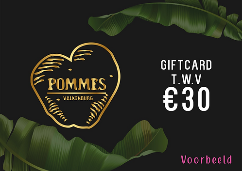 Pommes Giftcard