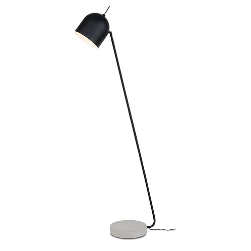 It's about RoMi floor lamp iron/ concrete base Madrid