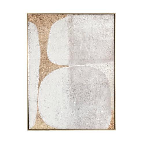 Pomax Dolmen canvas gebroken wit