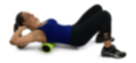 foam roller back massage