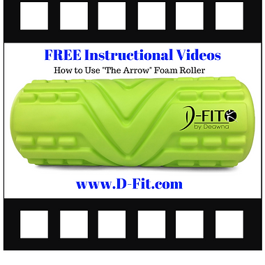 The Arrow™ High Density Foam Roller by D-Fit by Deawna Video Library How to Use