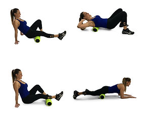 foam roller massage options how to use