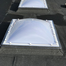 Heavy duty insulation, Danosa high performance torch on flat roofing system with a 20-year material warranty