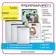 FUNDA TABLET SUBLIMABLE