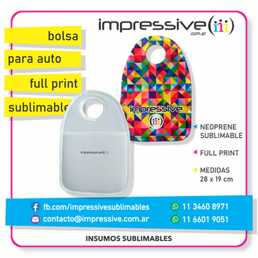BOLSA PARA AUTOS FULL PRINT SUBLIMABLE.p