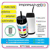 MATE LISTO POLYMER SUBLIMABLE