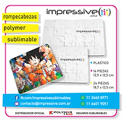 ROMPECABEZA POLYMER SUBLIMABLE