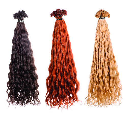 CURLY LONG - 10 pcs (pack)