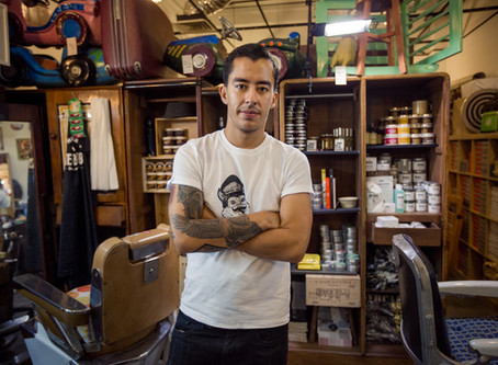 "A conversation with the ""Nomad Barber"" and some advice."