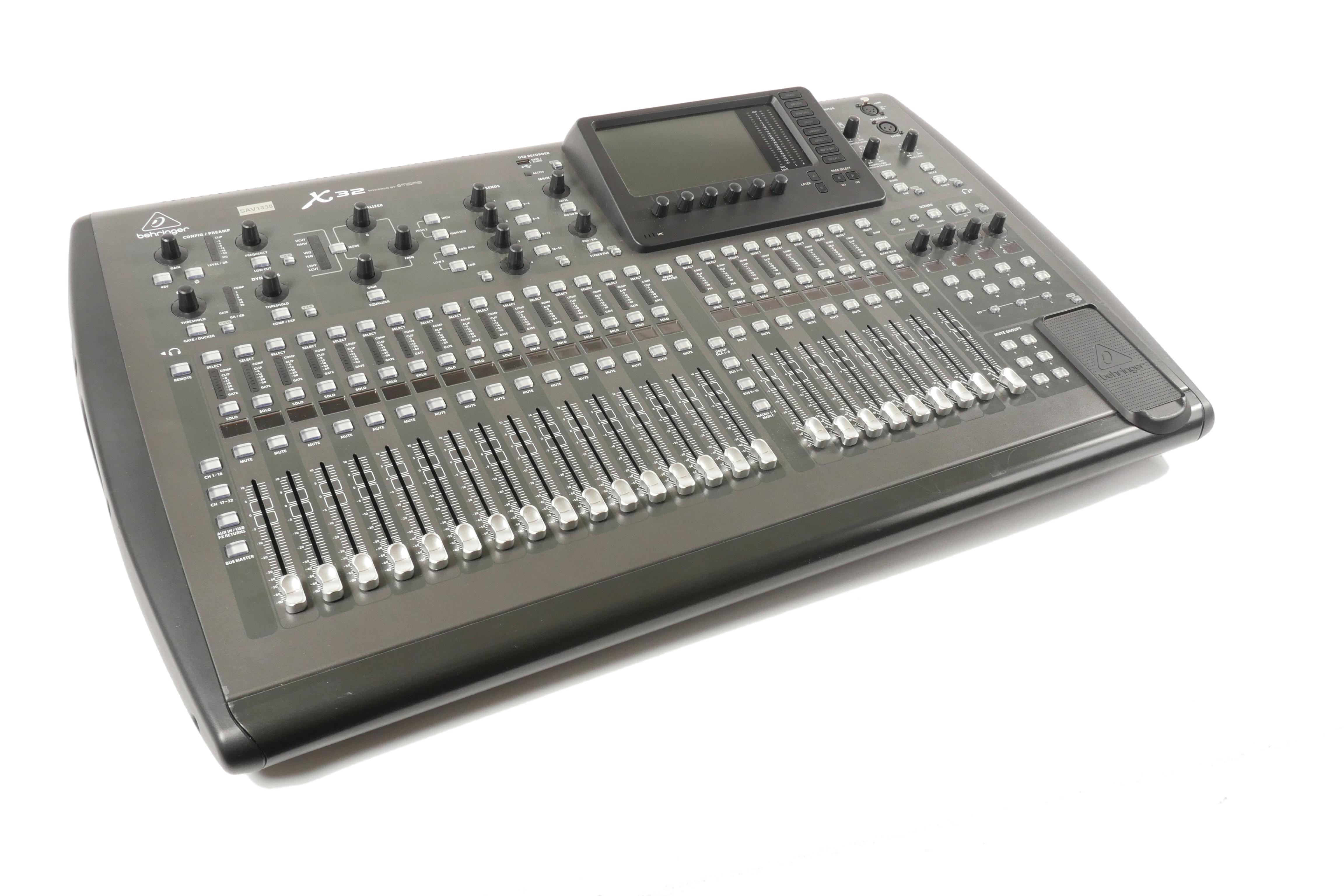 X32 Mixing
