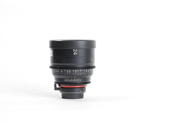 Xeen T1.5/24mm Cinema Lens
