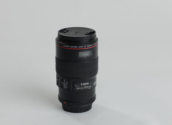 Canon Macro 100mm f2.8 lens