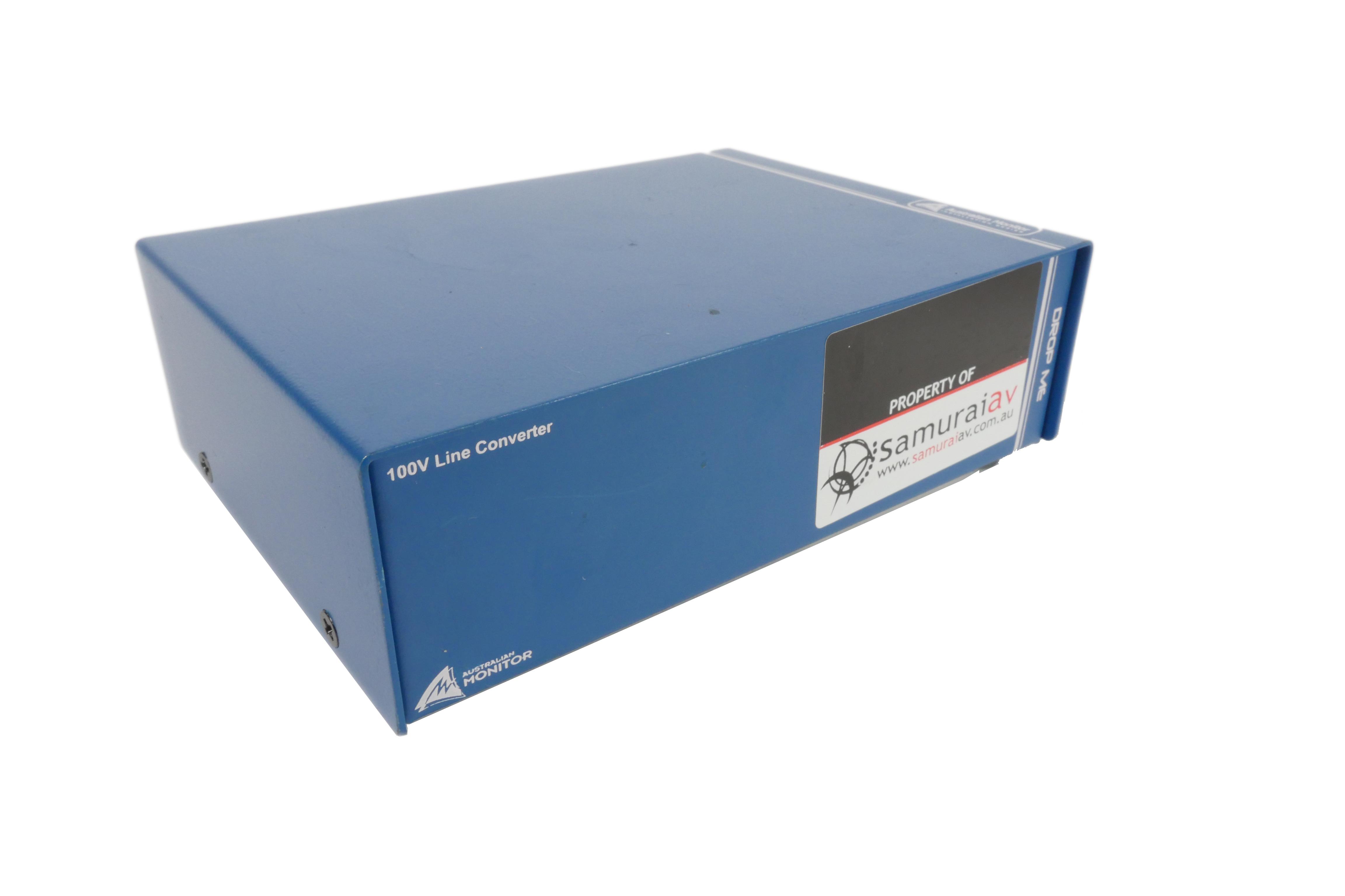 100V Audio Signal Level Converter