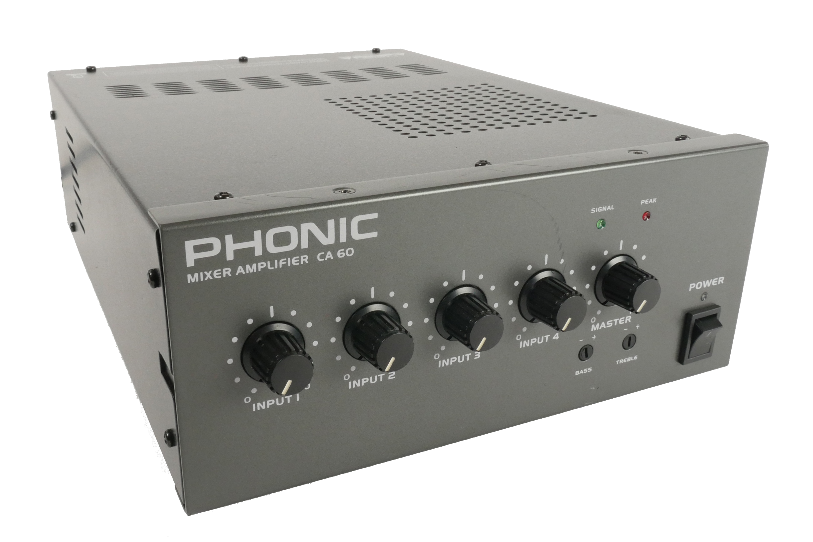 60Watt Phonic 100V Line Mixer