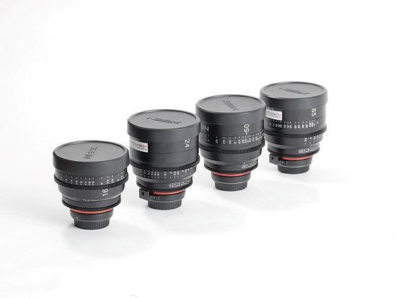 xeen 4 lens kit