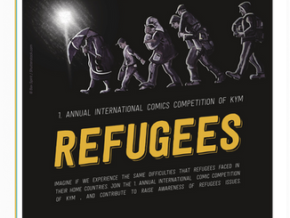 """Διεθνής Διαγωνισμός Γελοιογραφίας - Σκίτσου, με Θέμα: """"Πρόσφυγες"""", Προθεσμία: 29 Ιανουαρίο"""