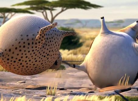 ROLLIN` SAFARI - Tι θα γινόταν αν τα ζώα ήταν στρογγυλά? -Animation (2012)