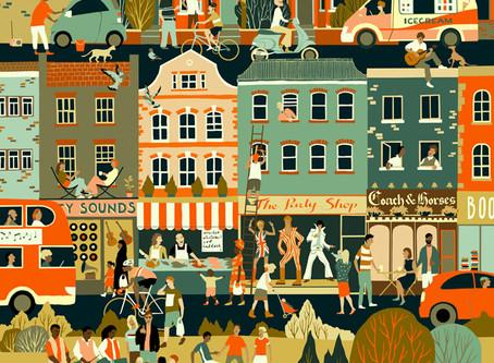 """Διεθνές Βραβείο Εικονογράφησης από το Λονδίνο (ΑΟΙ) - """"Ήχοι της Πόλης"""", Προθεσμία: 26 Σεπτεμβρίου 20"""